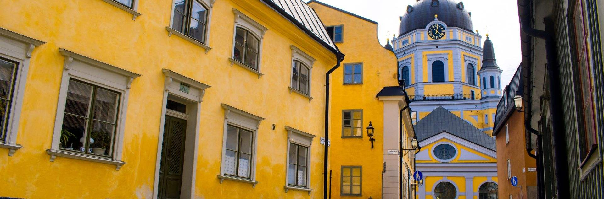 Guided walking tour Stockholm